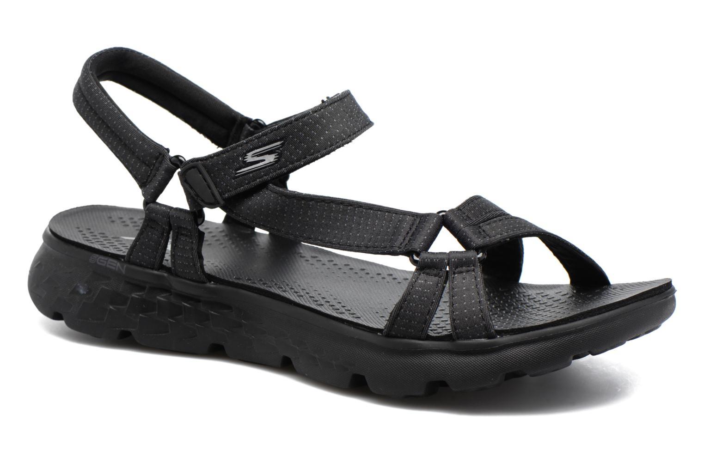 Sandaler Skechers on-the-GO 400 W Sort detaljeret billede af skoene