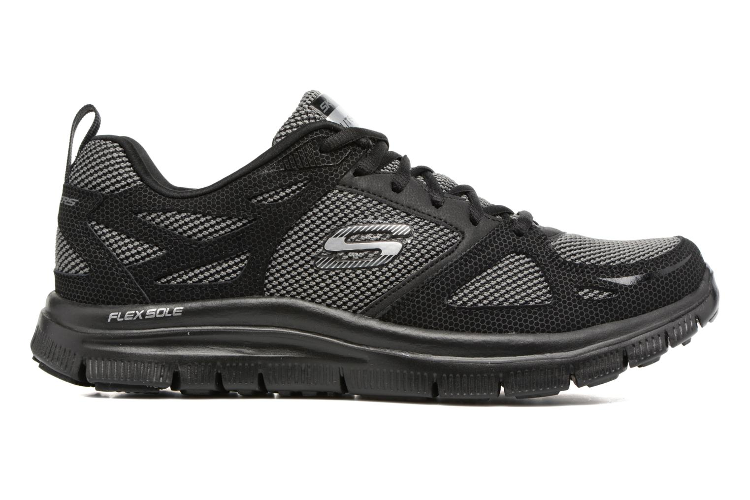 Sportssko Skechers Flex Advantage First Team Sort se bagfra