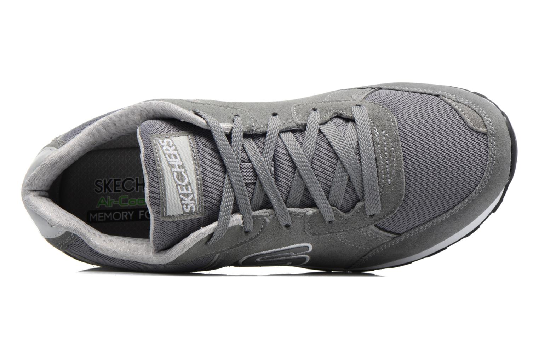 Baskets Skechers OG 82 Gris vue gauche