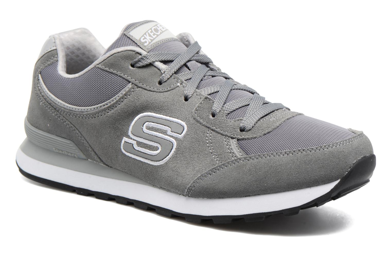 Trainers Skechers OG 82 Grey detailed view/ Pair view