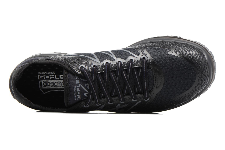 Chaussures de sport Skechers GO Flex Momentum Noir vue gauche