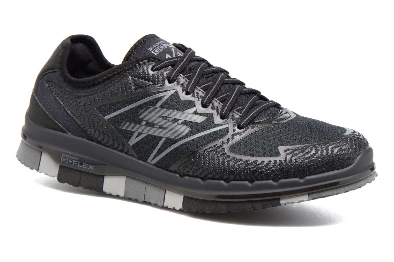Chaussures de sport Skechers GO Flex Momentum Noir vue détail/paire