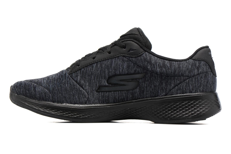 Sneakers Skechers GO Walk 4 serenity Nero immagine frontale