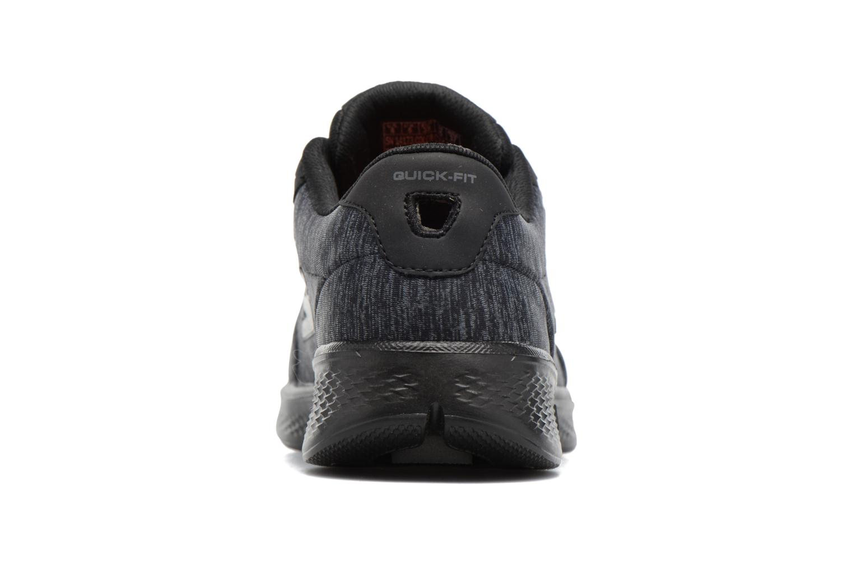 Sneakers Skechers GO Walk 4 serenity Nero immagine destra