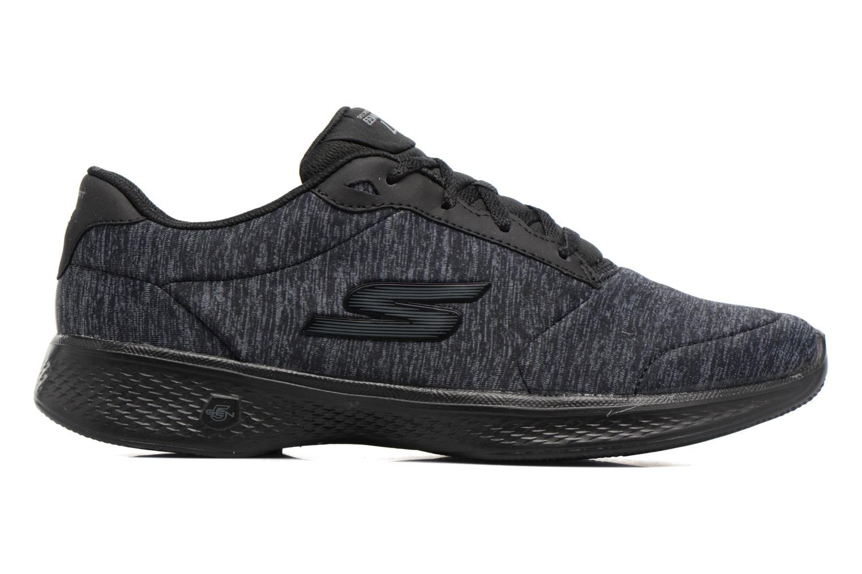 Sneakers Skechers GO Walk 4 serenity Nero immagine posteriore