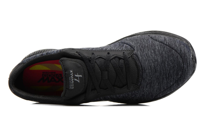 Sneakers Skechers GO Walk 4 serenity Nero immagine sinistra