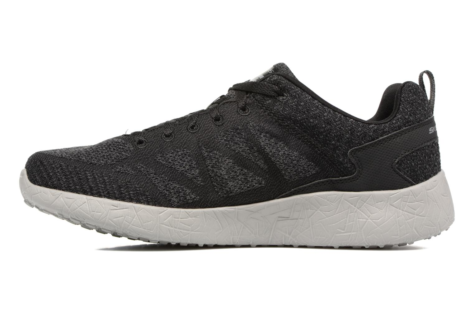 Baskets Skechers Burst Deal Closer Noir vue face