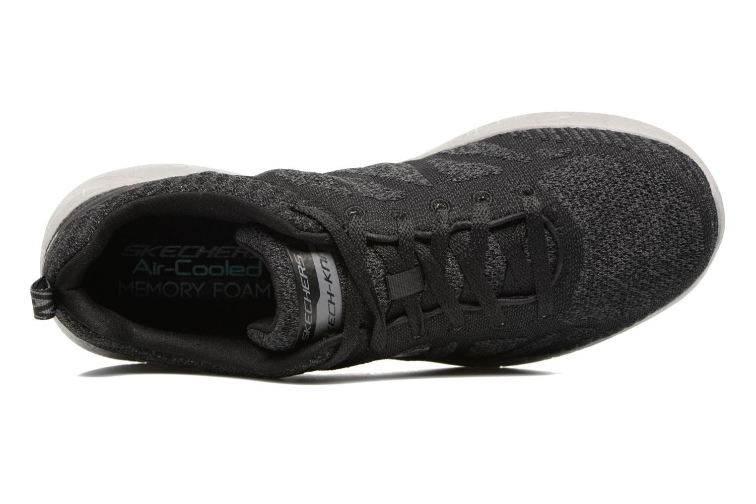 Sneaker Skechers Burst Deal Closer schwarz ansicht von links