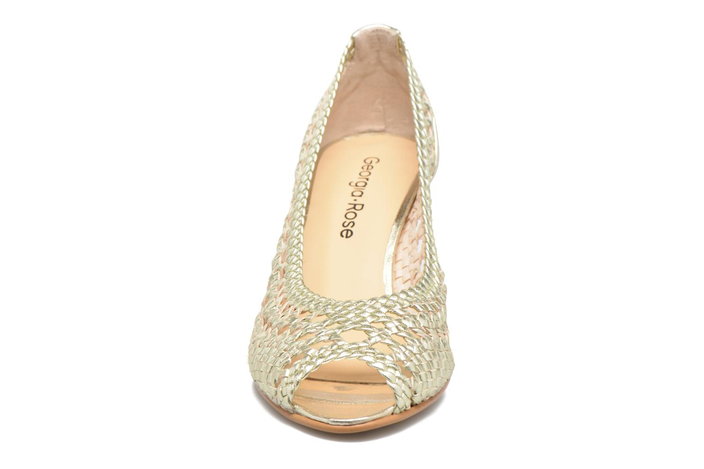 High heels Georgia Rose Tressa Bronze and Gold model view
