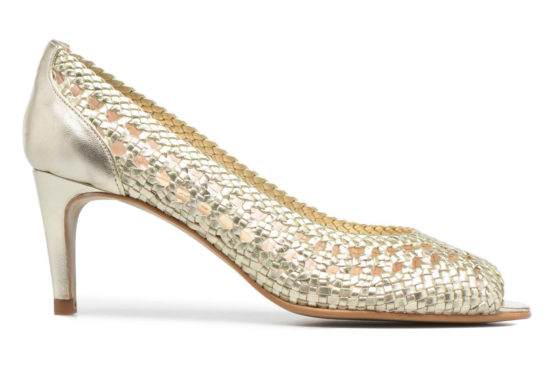 High heels Georgia Rose Tressa Bronze and Gold back view
