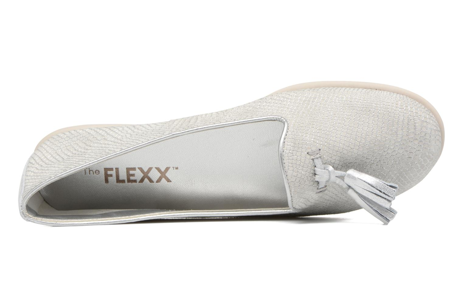 Loafers The Flexx Miss Take Silver view from the left