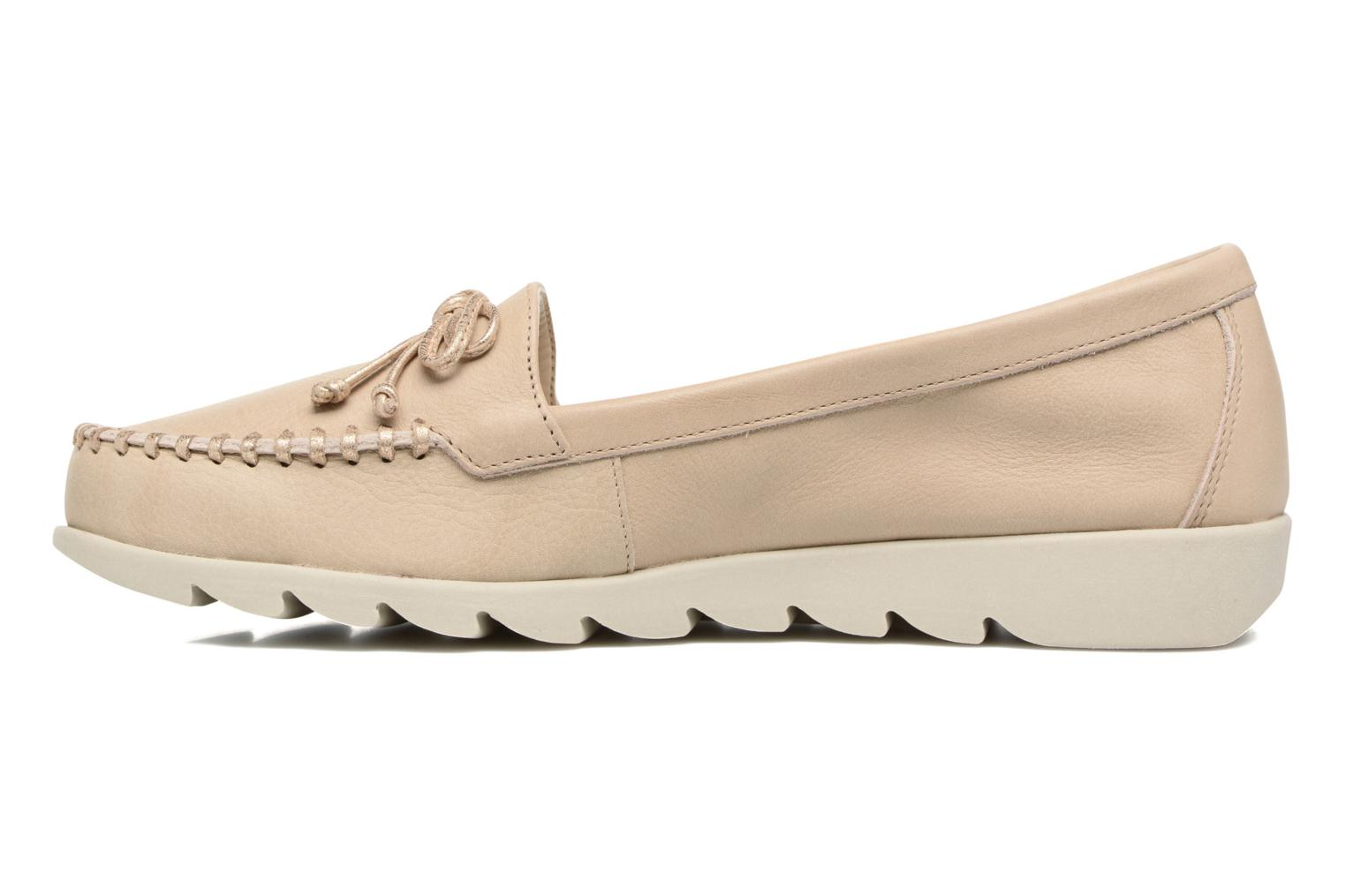Mocassins The Flexx Indy Track Beige vue face