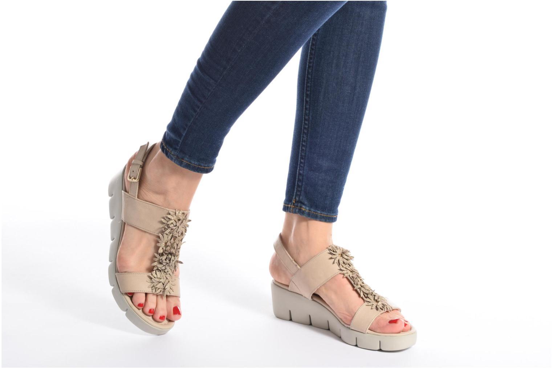 Sandales et nu-pieds The Flexx Emma Rouge vue bas / vue portée sac