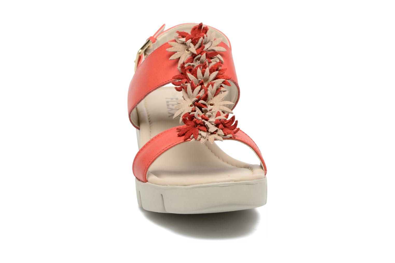 Sandales et nu-pieds The Flexx Emma Rouge vue portées chaussures