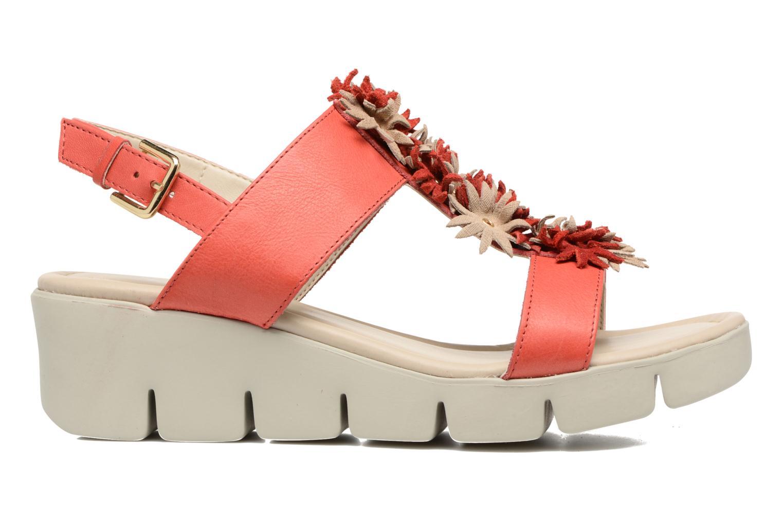 Sandales et nu-pieds The Flexx Emma Rouge vue derrière