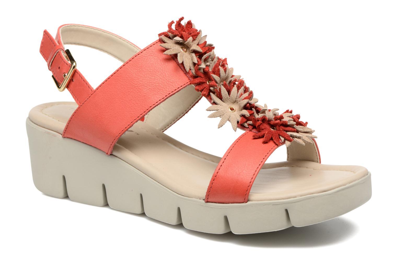 Sandales et nu-pieds The Flexx Emma Rouge vue détail/paire