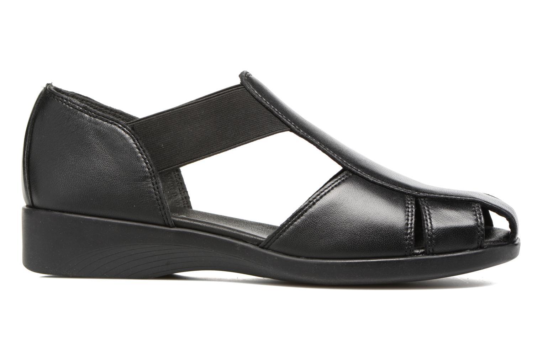 Sandalen Aerosoles 4Give schwarz ansicht von hinten
