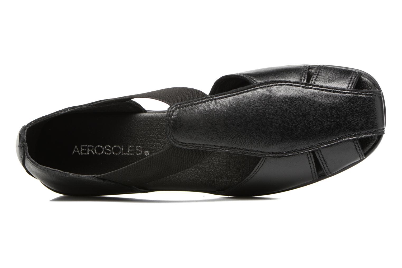 Sandalen Aerosoles 4Give schwarz ansicht von links