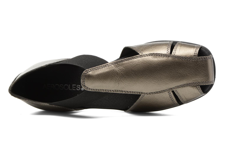 Sandalen Aerosoles 4Give silber ansicht von links