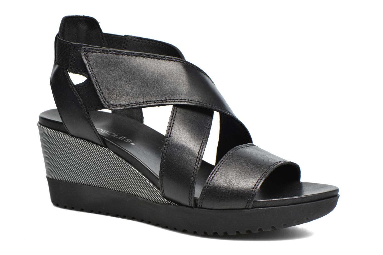 Sandales et nu-pieds Aerosoles Let's Go Noir vue détail/paire