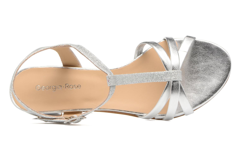 Sandales et nu-pieds Georgia Rose Lumitre Argent vue gauche