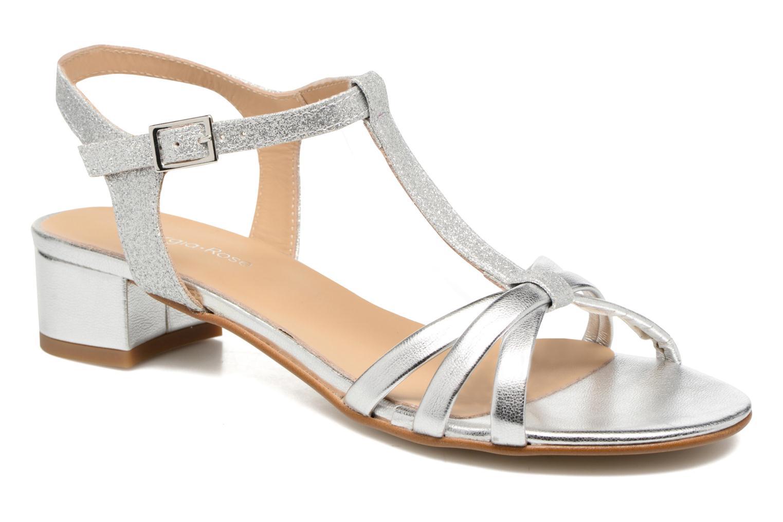 Sandales et nu-pieds Georgia Rose Lumitre Argent vue détail/paire