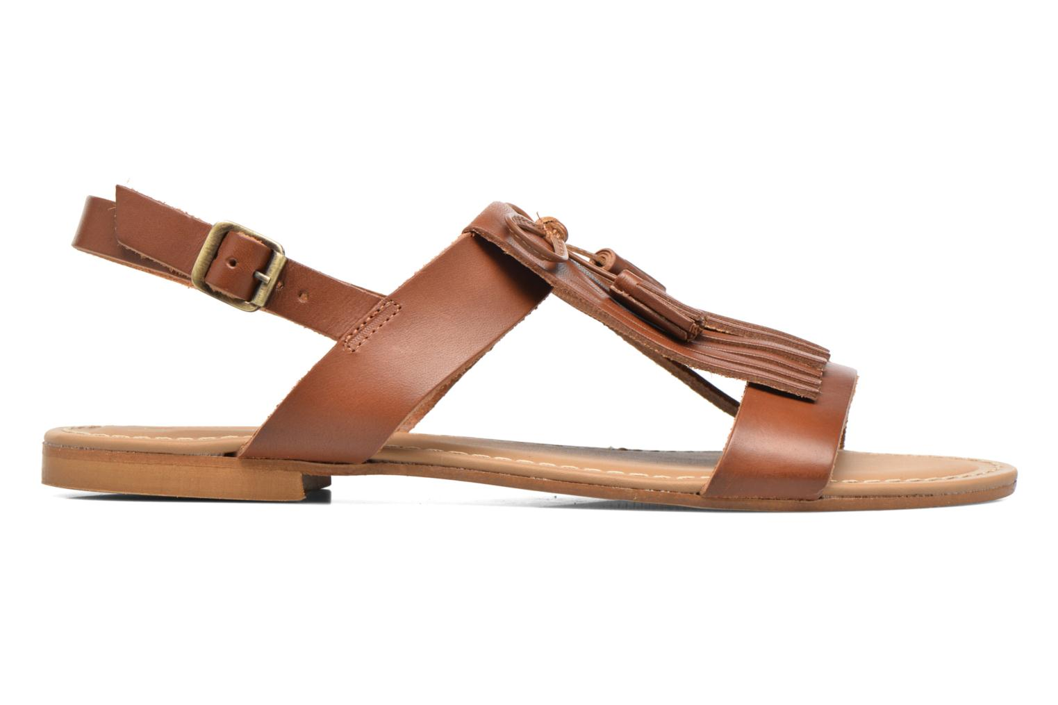 Sandals Georgia Rose Lupatte Brown back view