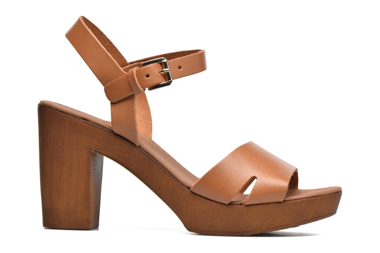 Sandalen Georgia Rose Dobou braun ansicht von hinten