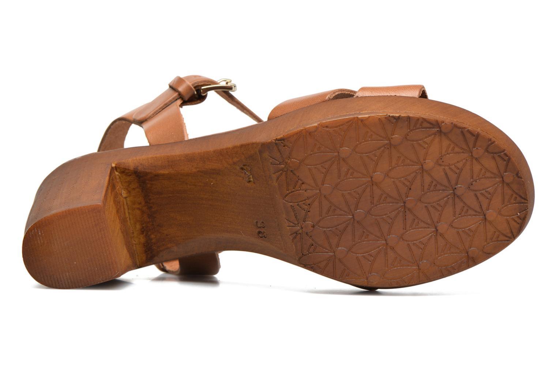 Sandali e scarpe aperte Georgia Rose Dobou Marrone immagine dall'alto