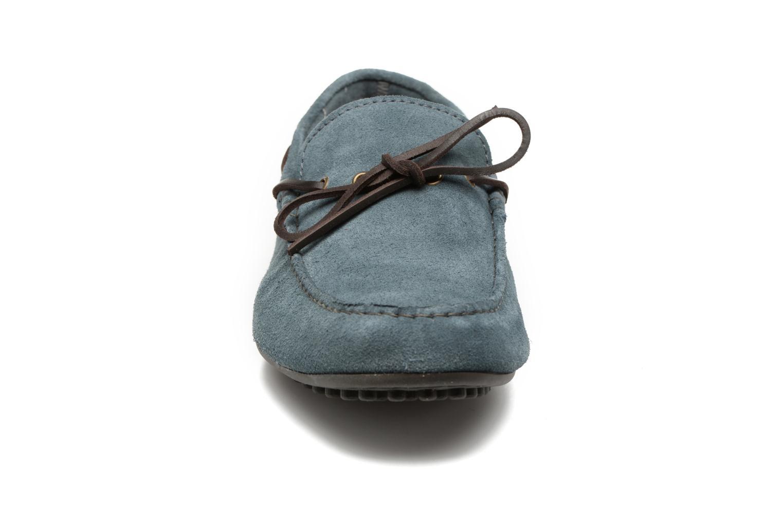 Mocassini Marvin&Co Stalban Azzurro modello indossato