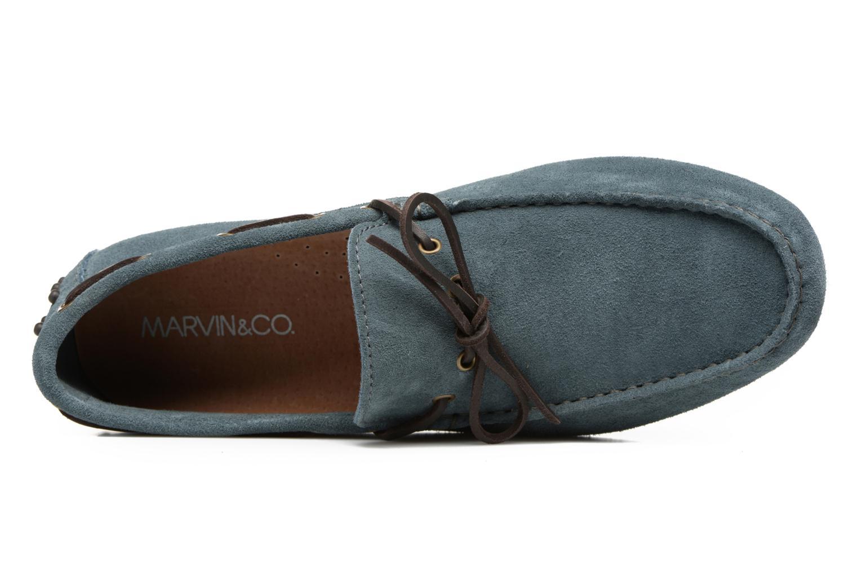 Mocassini Marvin&Co Stalban Azzurro immagine sinistra