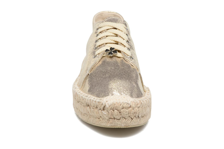 Espadrilles Molly Bracken Etoi Or et bronze vue portées chaussures