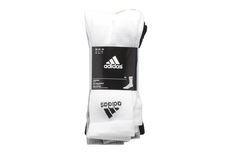Socken & Strumpfhosen Adidas Performance 3S PER CR HC 6P mehrfarbig ansicht von hinten