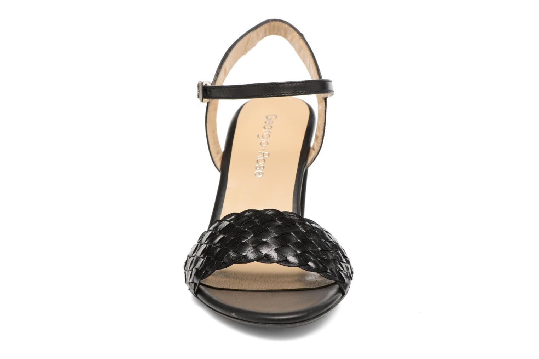 Sandales et nu-pieds Georgia Rose Satresse Noir vue portées chaussures