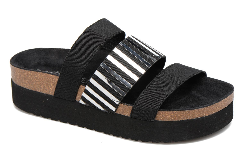 Sandales et nu-pieds Sixty Seven Strie 78844 Noir vue détail/paire