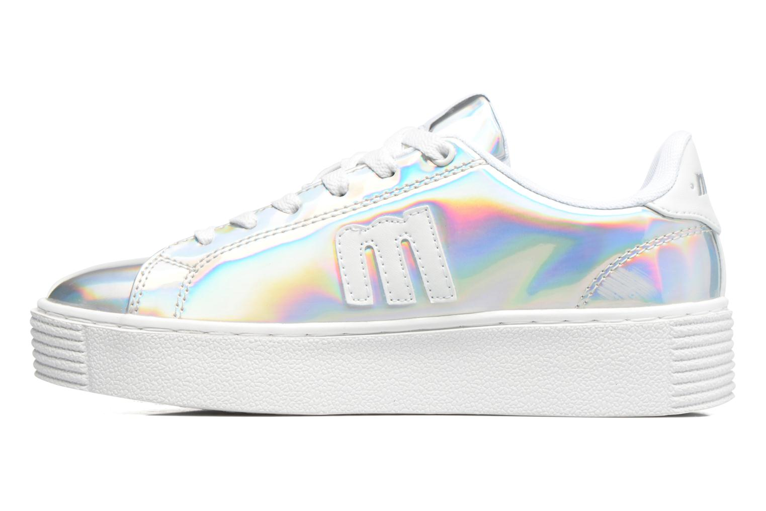 Sneakers MTNG Templo 69206 Argento immagine frontale