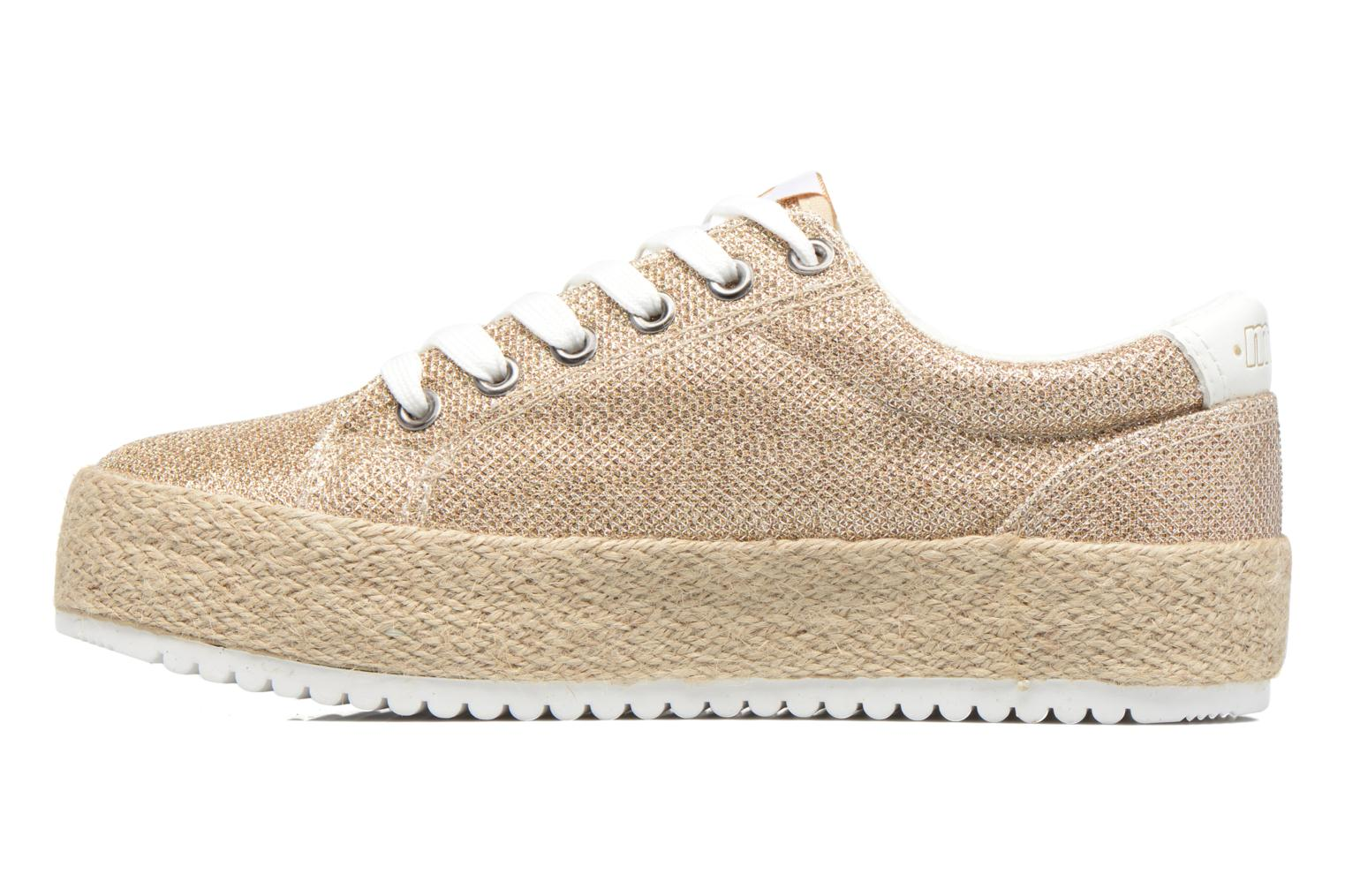 Sneakers MTNG Evan 69223 Oro e bronzo immagine frontale