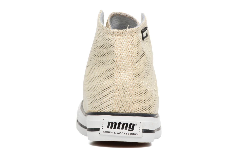 Sneakers MTNG Emi 13992 Goud en brons rechts