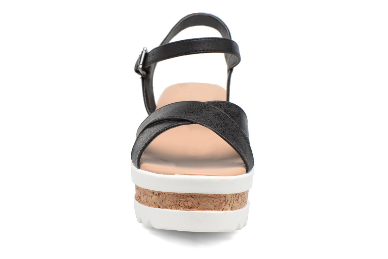Sandales et nu-pieds MTNG Dila 50779 Noir vue portées chaussures