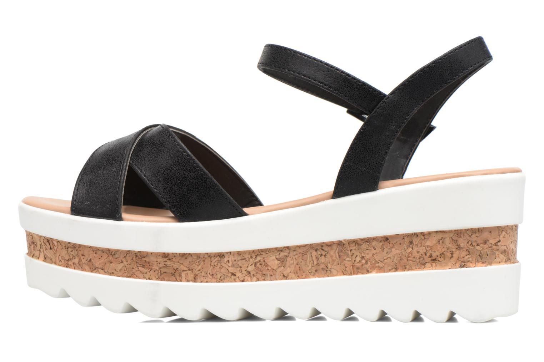 Sandales et nu-pieds MTNG Dila 50779 Noir vue face