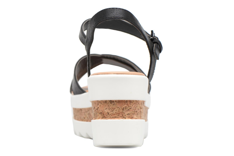 Sandales et nu-pieds MTNG Dila 50779 Noir vue droite