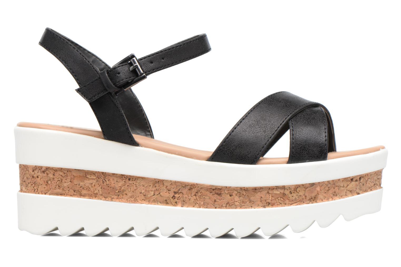 Sandales et nu-pieds MTNG Dila 50779 Noir vue derrière