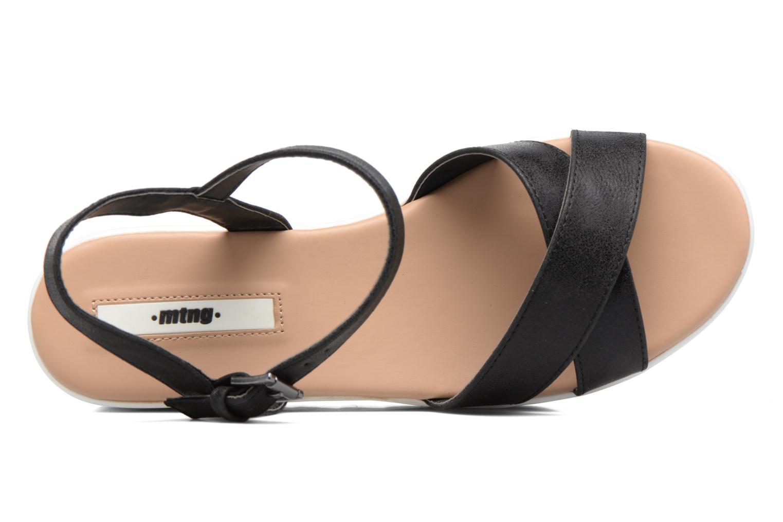 Sandales et nu-pieds MTNG Dila 50779 Noir vue gauche