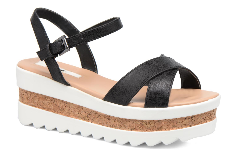 Sandales et nu-pieds MTNG Dila 50779 Noir vue détail/paire