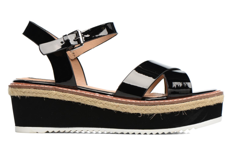 Sandales et nu-pieds MTNG Alexandra 55409 Noir vue derrière