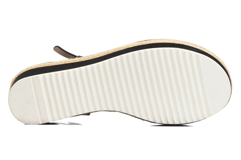 Sandales et nu-pieds MTNG Alexandra 55409 Noir vue haut