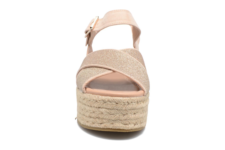 Sandales et nu-pieds MTNG Tessi 50973 Rose vue portées chaussures
