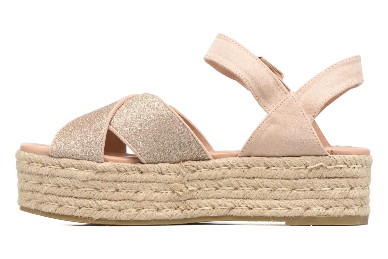 Sandales et nu-pieds MTNG Tessi 50973 Rose vue face