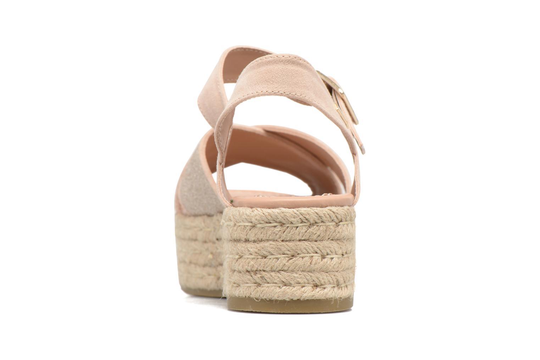 Sandales et nu-pieds MTNG Tessi 50973 Rose vue droite