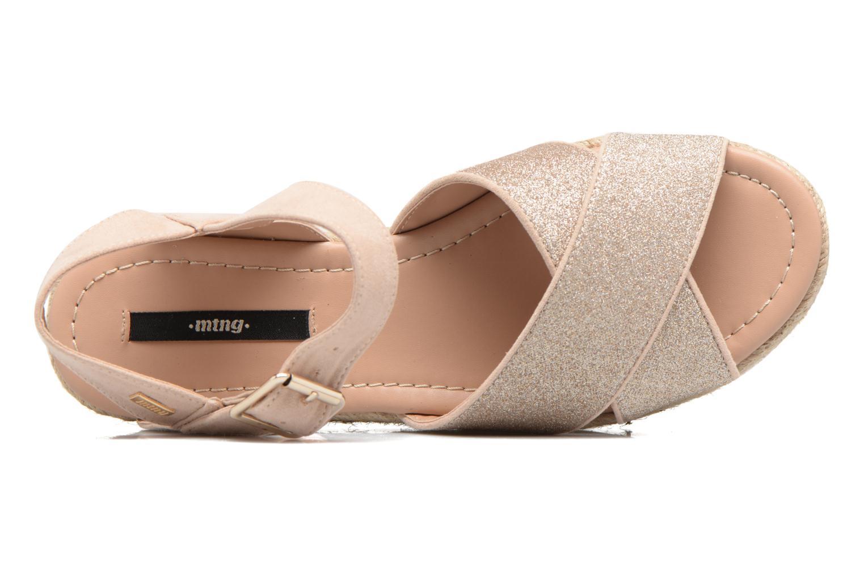 Sandales et nu-pieds MTNG Tessi 50973 Rose vue gauche